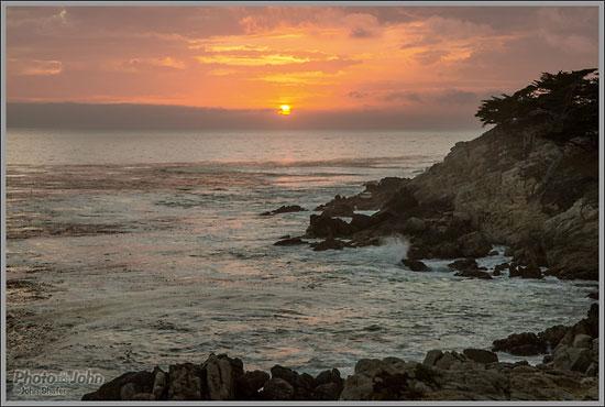 Carmel, California Sunset - Sony Alpha A99