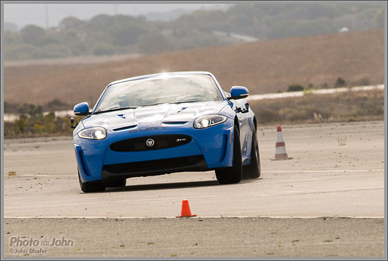 Sony Alpha A99 - Jaguar Rally-Cross Action Photo