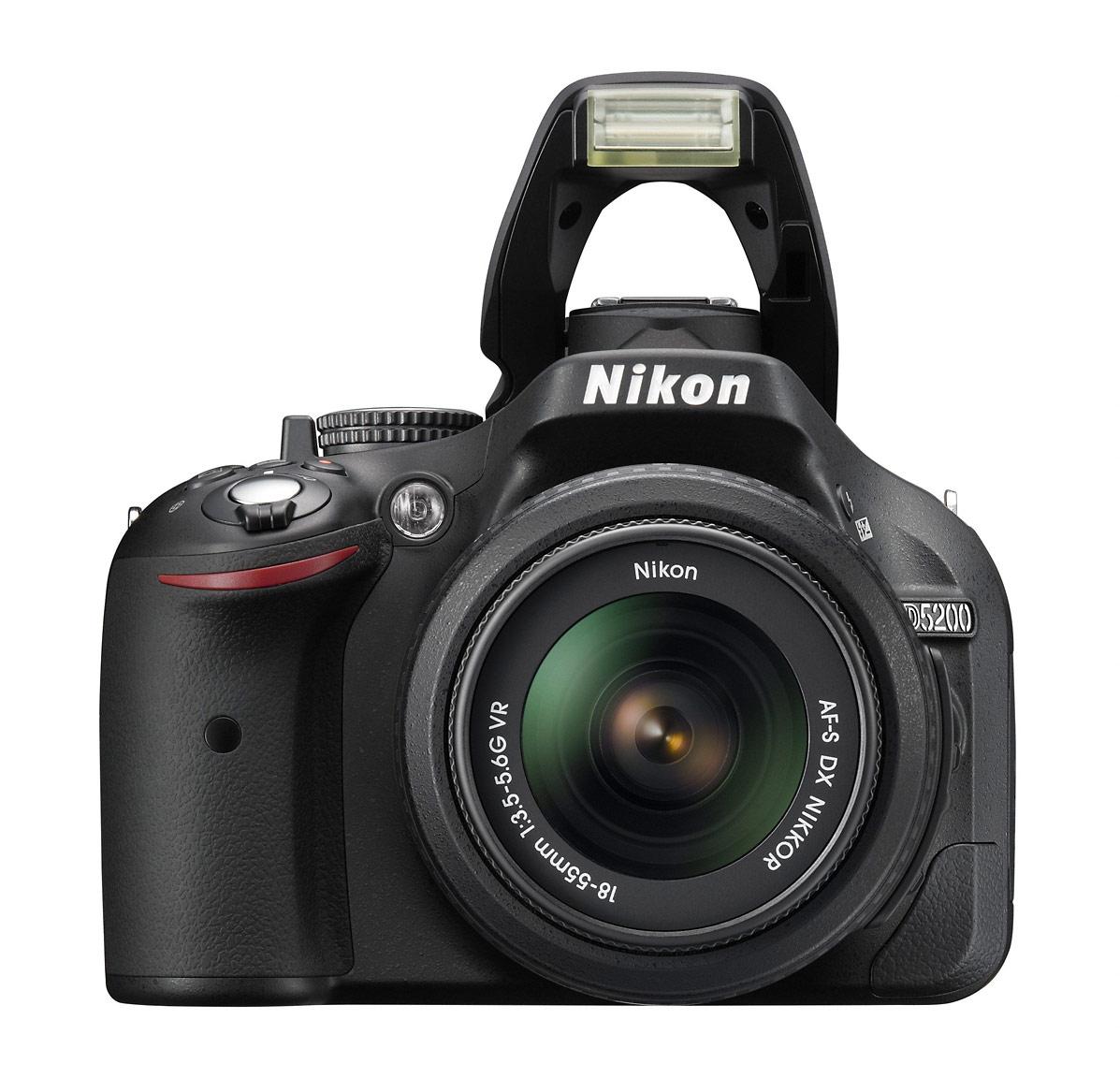 Nikon D5200 Digital SLR - Pop-Up Flash