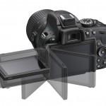 The Nikon D5200's 3-Inch Tilt-Swivel LCD Display