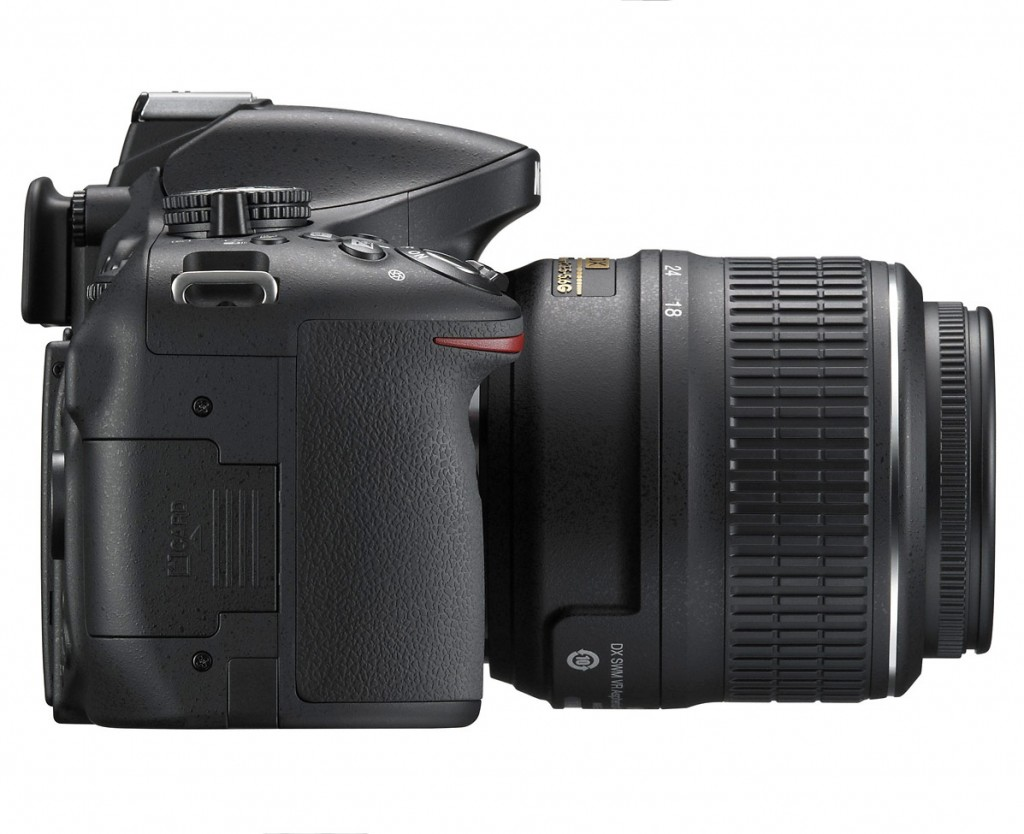 Nikon D5200 Digital SLR - Right Side | Camera News and Reviews