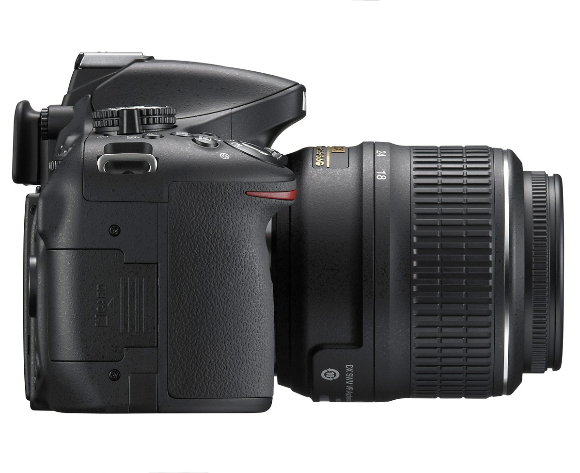 Nikon D5200 Digital SLR - Right Side