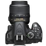 Nikon D5200 Digital SLR - Top & Controls