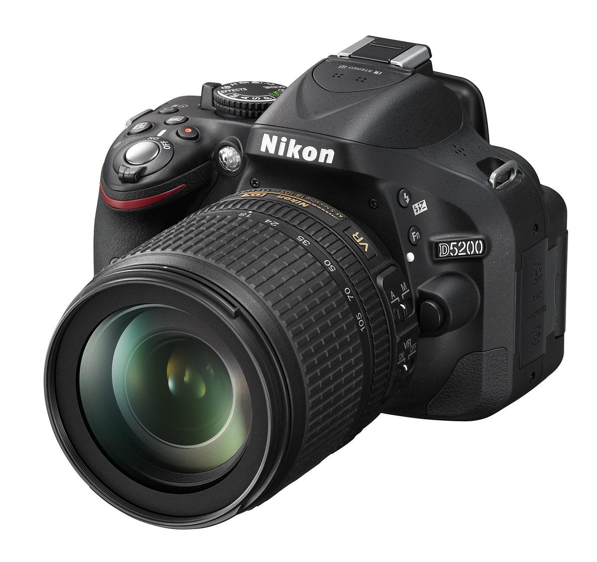 Nikon D5200 Digital SLR - Upper Left