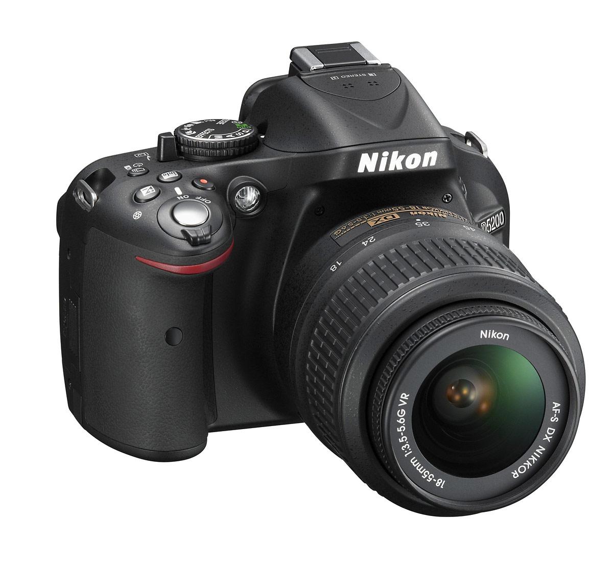 Nikon D5200 Digital SLR - Upper Right
