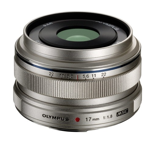 Olympus M.Zuiko Digital 17mm f1.8 Micro Four Thirds Lens