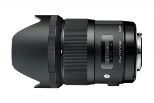 Sigma 35mm F1.4 DG HSM With Lens Shade