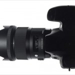 Sigma 35mm F1.4 DG HSM Lens - Mounted On Camera