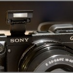 Sony Alpha NEX-6 - Pop-Up Flash
