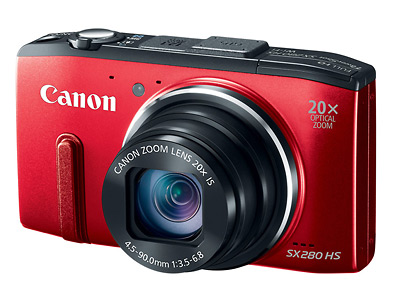 Canon PowerShot SX280 HS Pocket Superzoom Camera