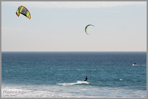 Sony NEX-6 - Kiteboarder Action Photo