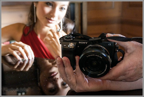 Sony NEX-6 - Showing The Model A Photo
