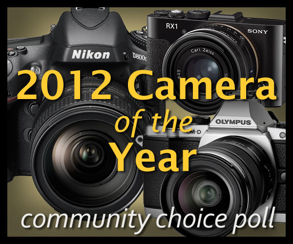 2012 Camera of the Year Community Choice Poll