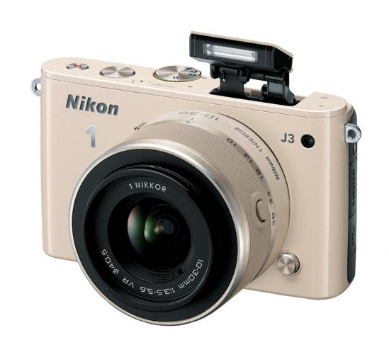 Nikon 1 J3 - Pop-Up Flash - Beige