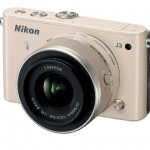 Nikon 1 J3 Mirrorless Camera - Beige