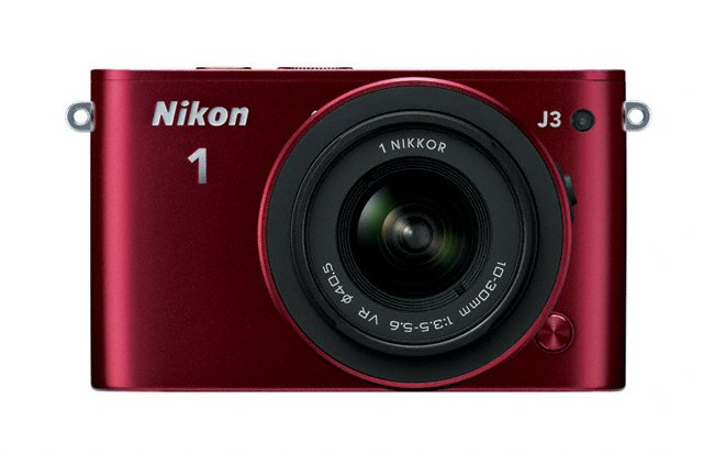 Nikon 1 J3 Compact Interchangeable Lens Camera - Front