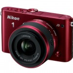 Nikon 1 J3 Compact Interchangeable Lens Camera - Burgundy