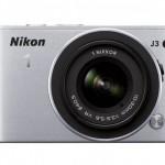 Nikon 1 J3 Mirrorless Camera - Front - Silver