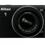 Nikon 1 S1 Mirrorless Camera - Front - Black