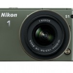 Nikon 1 S1 Mirrorless Camera - Front - Khaki