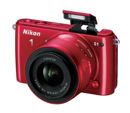 Nikon 1 S1 Mirrorless Camera - Pop-Up Flash