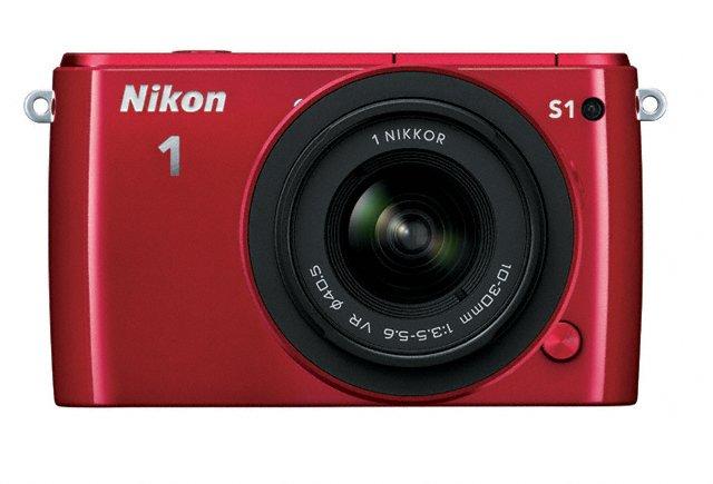 Nikon 1 S1 Mirrorless Camera - Front