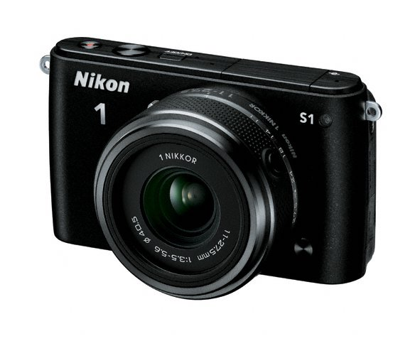 Nikon 1 S1 Mirrorless Camera - Black