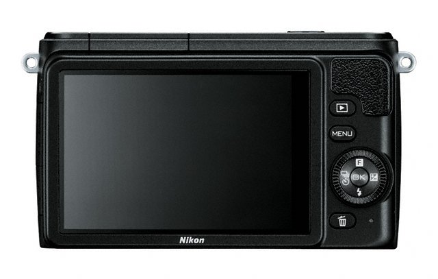 Nikon 1 S1 Mirrorless Camera - Rear - Black