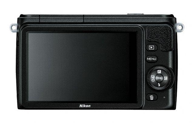 Nikon 1 S1 Mirrorless Camera - Rear - Black