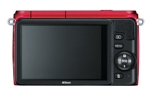 Nikon 1 S1 Mirrorless Camera - Rear