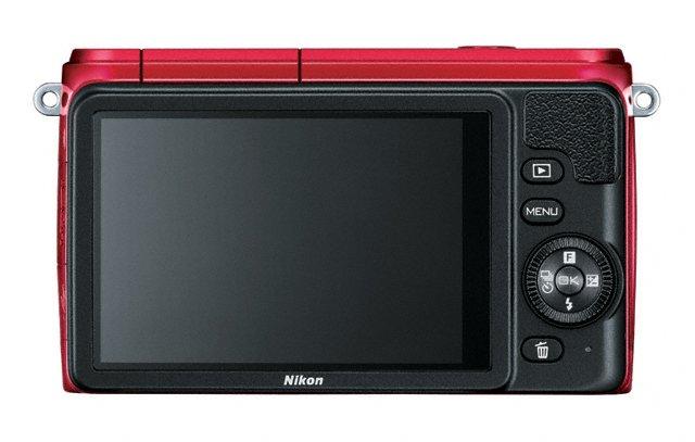 Nikon 1 S1 Mirrorless Camera - Rear