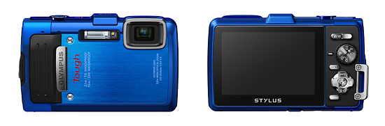Olympus Stylus Tough TG-830 iHS Waterproof, Shockproof P&S Camera