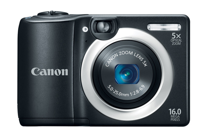 Canon PowerShot A1400 - Front View With 5x Zoom Lens