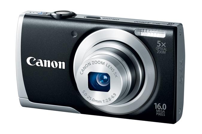 Canon PowerShot A2600 - Black - Angle