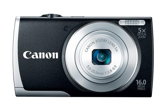 Canon PowerShot A2600 - Black - Front