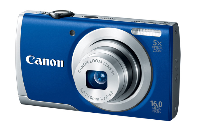 Canon PowerShot A2600 - Blue - Angle