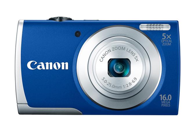 Canon PowerShot A2600 - Blue - Front
