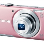 Canon PowerShot A2600 - Pink - Angle