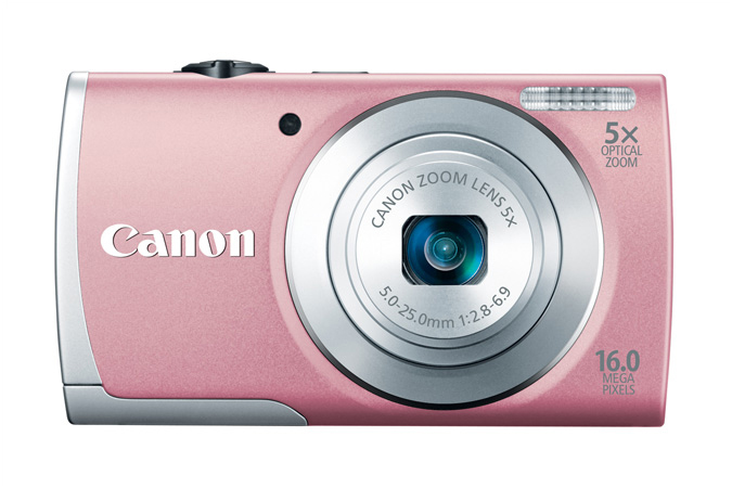 Canon PowerShot A2600 - Pink - Front