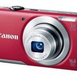 Canon PowerShot A2600 - Red - Angle