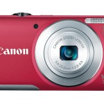Canon PowerShot A2600 - Red - Front