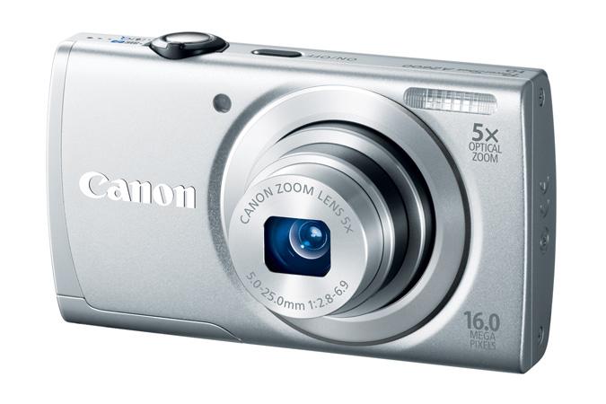 Canon PowerShot A2600 - Silver - Angle