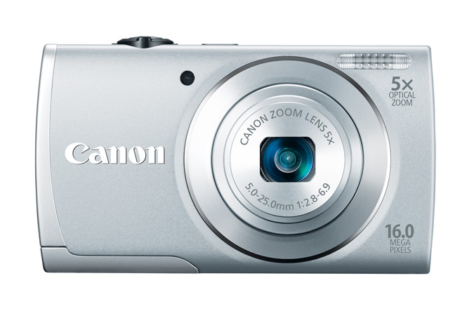 Canon PowerShot A2600 - Silver - Front