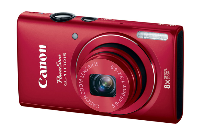 Canon PowerShot ELPH 130 IS - Red