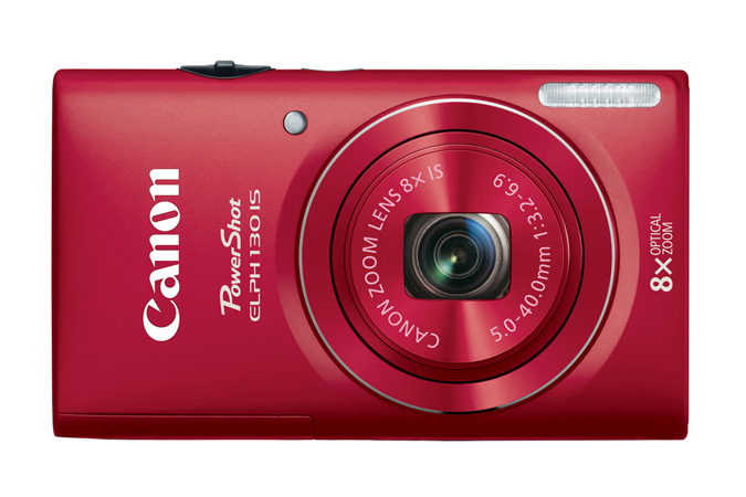 Canon PowerShot ELPH 130 IS - Red - Front