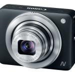 Canon PowerShot N - Black - Angle