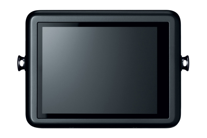 Canon PowerShot N - Black - Rear Touch Screen LCD Display