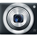 Canon PowerShot N - Black - Front