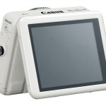 Canon PowerShot N - White - Tilting Touch Screen LCD