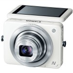 Canon PowerShot N - White - With Tilting Touch Screen Display